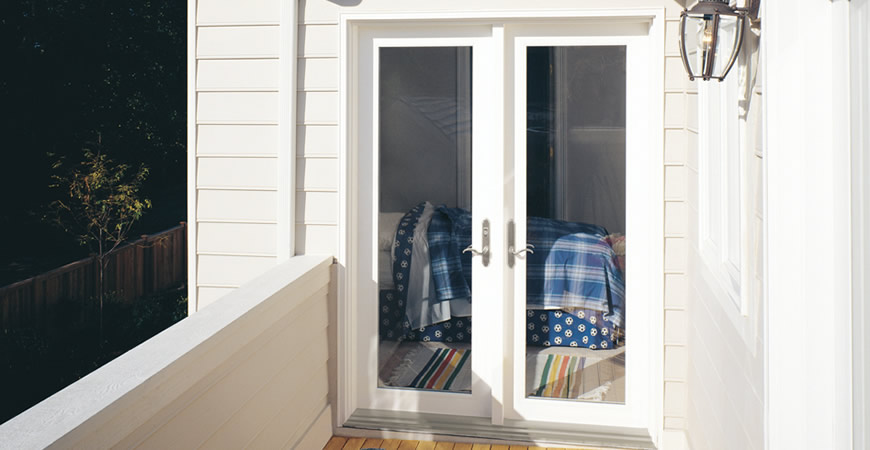 Swing hinged and french doors rmk windows for In swing french patio doors